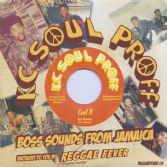 SALE ITEM - KC White - Cool It / Morris White - Dub It Cool (KC Soul Proff / Reggae Fever) 7""